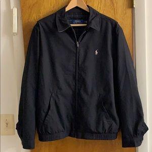 Men's Polo Jacket Coat Shell Windbreaker Medium M